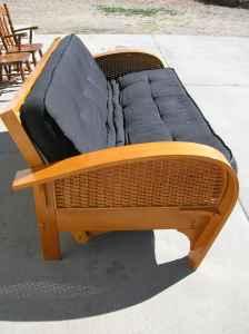 donated sofa