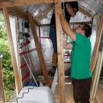 Construction des murs intérieurs