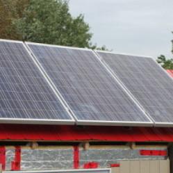 Panneaux solaires tiny house