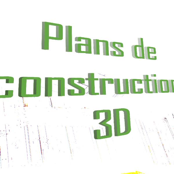 plans de construction 3D tiny house
