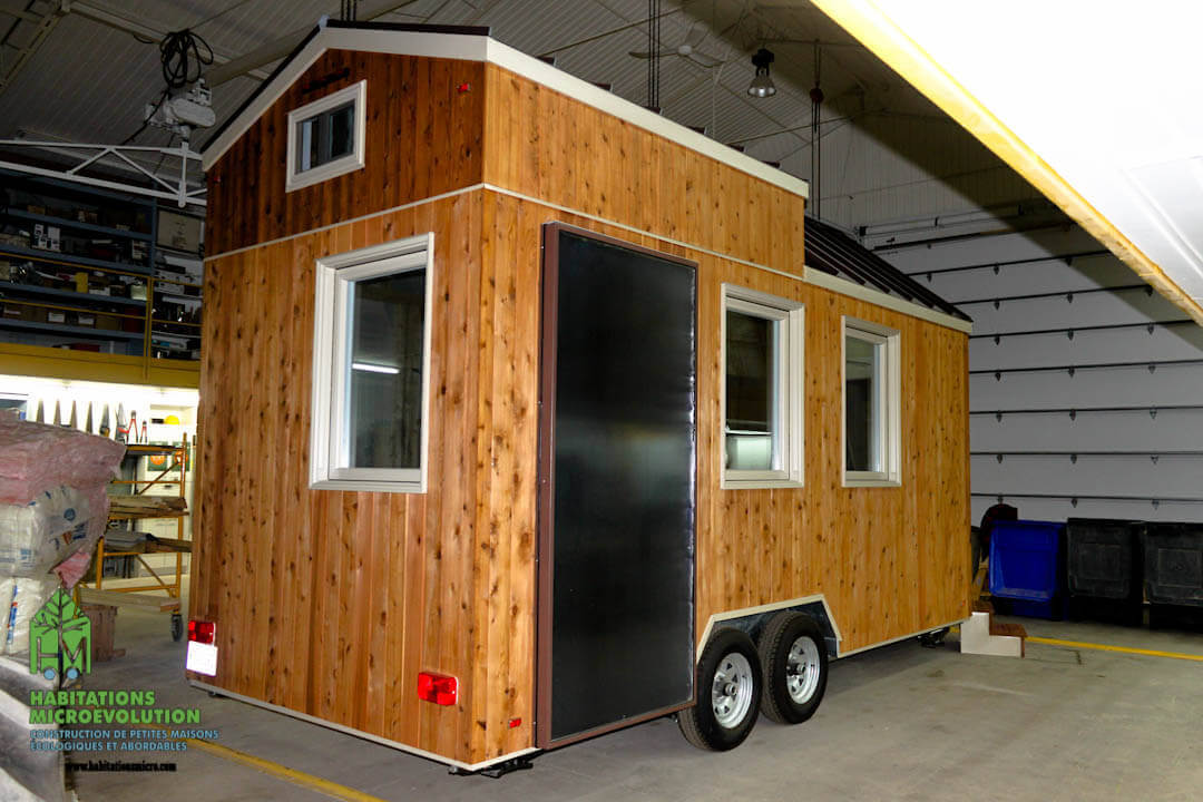 Habitations MicroÉvolution | Tiny house | assistance to self-builders