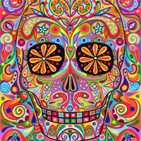 calacas day of the dead culture mexico