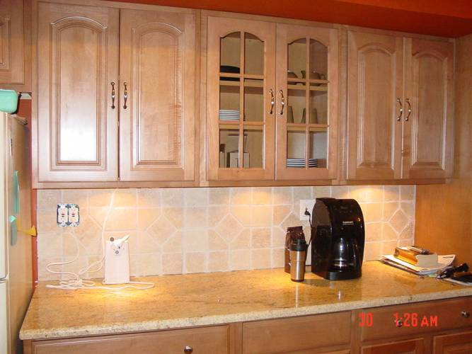 home depot kitchen cabinets Re Kitchen redo Home Depot cabinets by decor