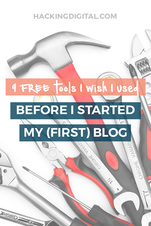 9 free blogging tools I wish I used when I started my first hosted WordPress blog via @HackingDigital