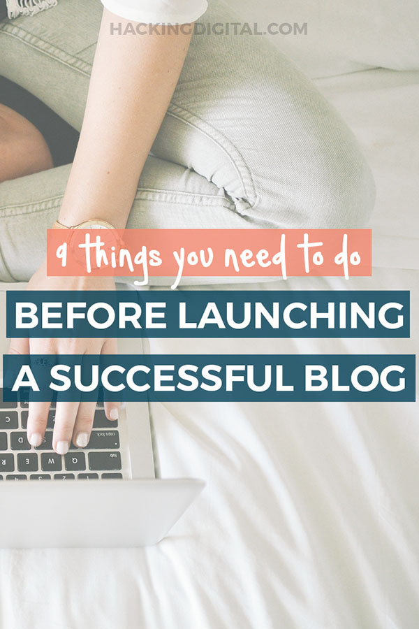 9 things you need to do before you start a successful blog on WordPress via @HackingDigital