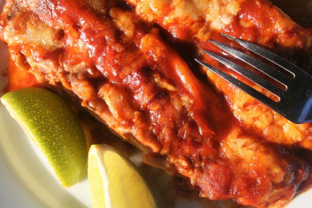 Low Sodium Chicken Enchiladas