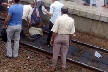 عجلات القطار تدهس عامل بمركز القوصية في أسيوط
