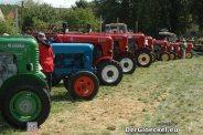 Oldtimer-Traktoren Ausstellung
