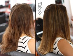 Balayage highlighting