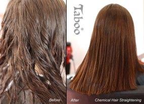 Hair Straightening result photo