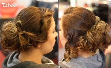hair updo design photo