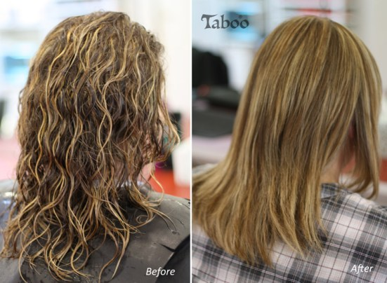 Chemical hair straightening photo result