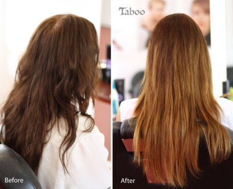 Ombre highlighting result by Tina Fox