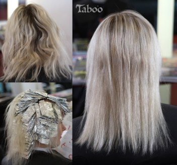 Platinum blonde work