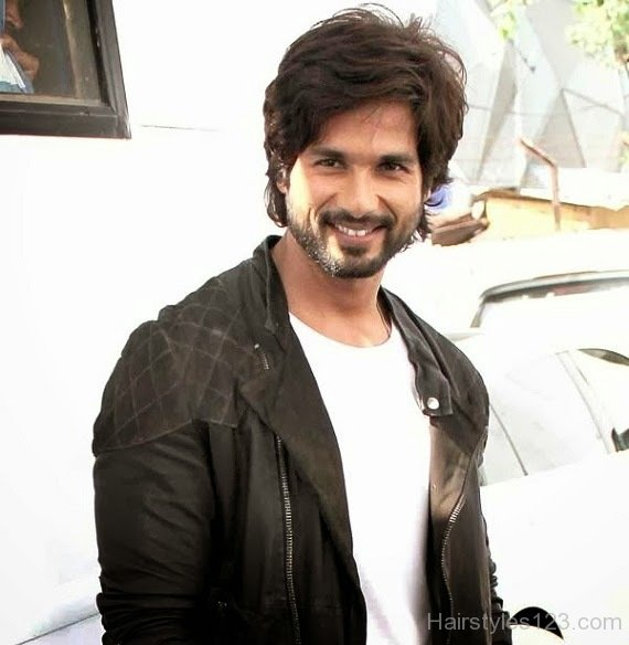 Shahid Kapoor Long Hairstyle Photos of 1 by Allison