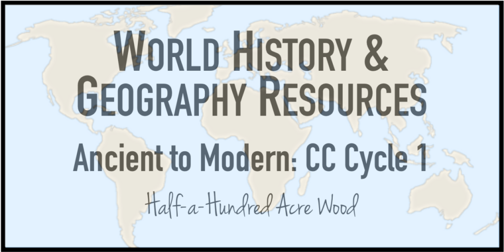 cc cycle 1 history geography resources