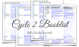 Unofficial CC Cycle 2 Booklist