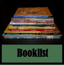 http://www.halfahundredacrewood.com/2013/04/Classical-Conversations-Cycle-2-Booklist.html