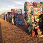 Cadillac Ranch {50 states before they graduate}