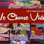 We Choose Virtues Homeschool Kit Review