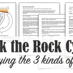 Rock the Rock Cycle {Free Lesson & Printables}