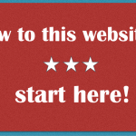 New to this website? Start here!