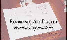 Rembrandt Art Project: Facial Expressions