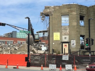 "Danny Chedrawe has demolished 7 character buildings-his new 7-storey construct will block the view of Citadel Hill from the 5-storey ""Halifax Livingroom"" of the new Central Library. https://www.halifaxexaminer.ca/province-house/drinking-with-a-dead-man-morning-file-wednesday-may-4-2016/"