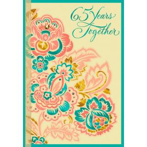 Invigorating Parents Anniversary Card Ideas Him Multicolor Flowers Anniversary Card Multicolor Flowers Anniversary Card Greeting Cards Hallmark Anniversary Card Ideas