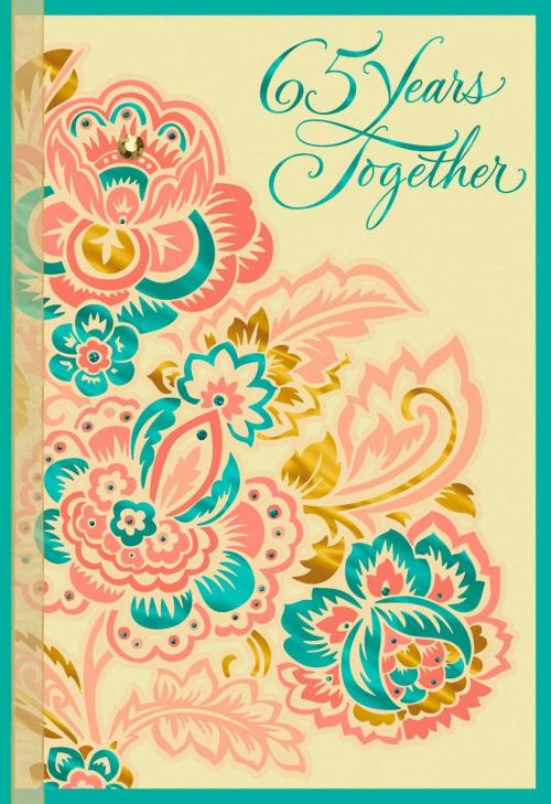 Invigorating Parents Anniversary Card Ideas Him Multicolor Flowers Anniversary Card Multicolor Flowers Anniversary Card Greeting Cards Hallmark Anniversary Card Ideas