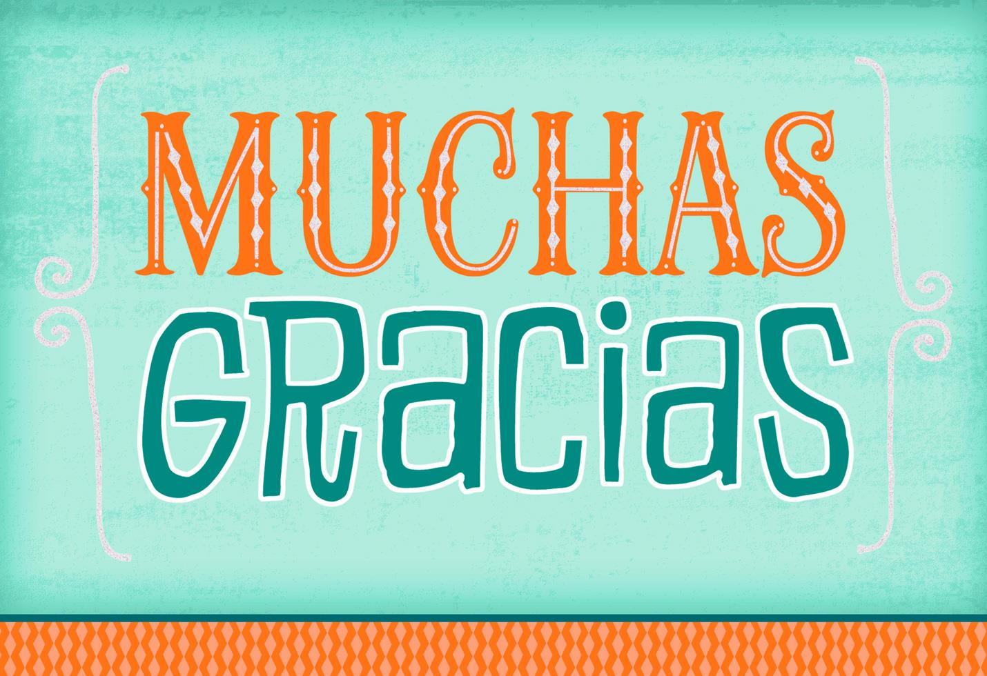 Glomorous Many Thanks Thank You Card Many Thanks Thank You Card Greeting Cards Hallmark Spanish Thank You Thank You Girl Spanish inspiration Spanish For Thank You