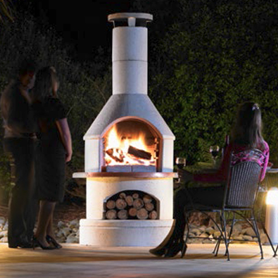 Buschbeck rondo outdoor fire