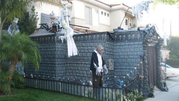 Image result for foam board castle haunted house
