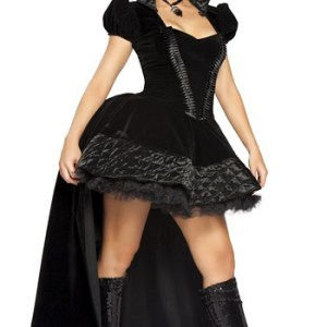 2Pc Wicked Queen Costume