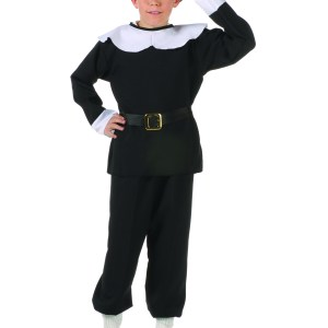 3pc. Pilgrim Boy Costume