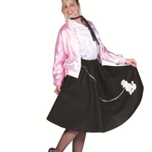 50's Poodle Skirt Plus Size Costume