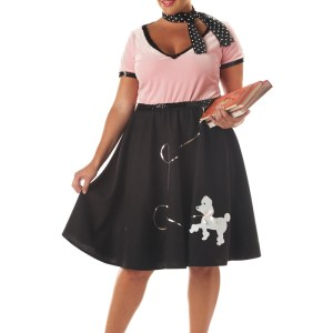 50's Sweetheart Adult Womens Plus Size Costume