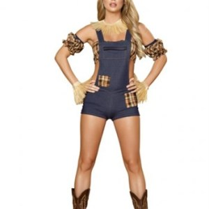 6pc Scarecrow Maiden Costume