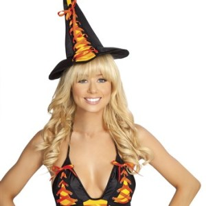 Adult Candy Witch Hat