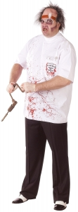 Adult Dr Killer Driller Plus Size Costume