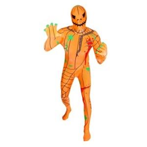 Adult's Halloween Pumpkin Morphsuit Costume