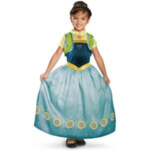 Anna Frozen Fever Deluxe Girls Costume