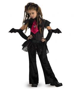 Bat Girl Child Costume
