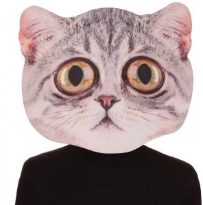 Big Eyed Cat Adult Mask