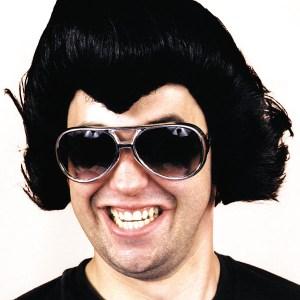 Black Rock Star Wig