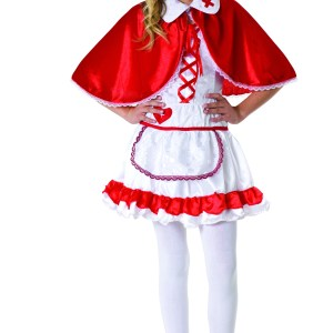 Caped Nurse Teen Costume