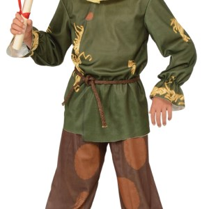 Child Scarecrow Wizard Of Oz Costume