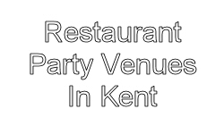 restaurant party venues in kent image