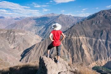 3 dagers trekking i Colca Canyon - nest dypeste canyon