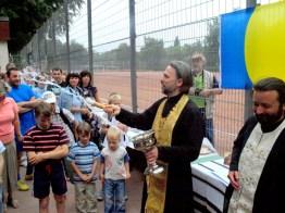 Молебен перед матчем